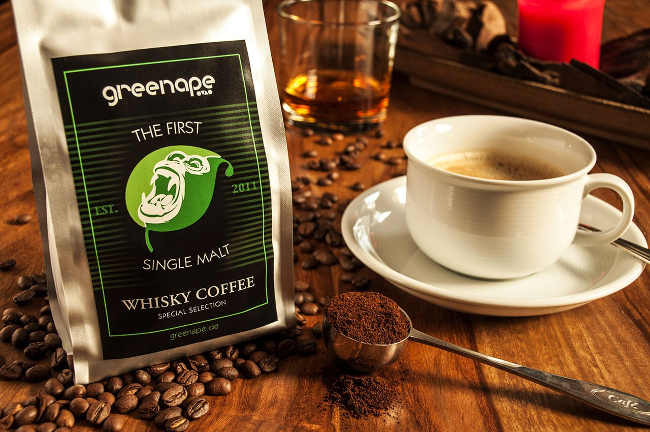 GreenApe 1st Single Malt Whisky Coffee und seine Schokoladen Noten