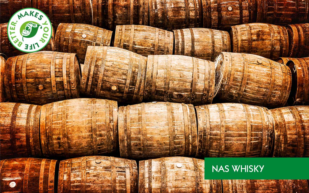 NAS Whisky Fass