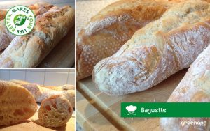 Baguette Rezept Backen
