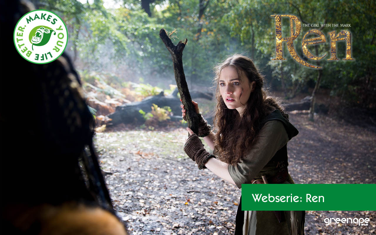 Weihnachts-Countdown: Ren – The Girl with the Mark – Fantasy/ Action Serie