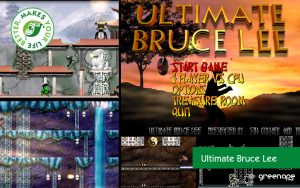 Spiel PC Ultimate Bruce Lee c64 Retro Revival