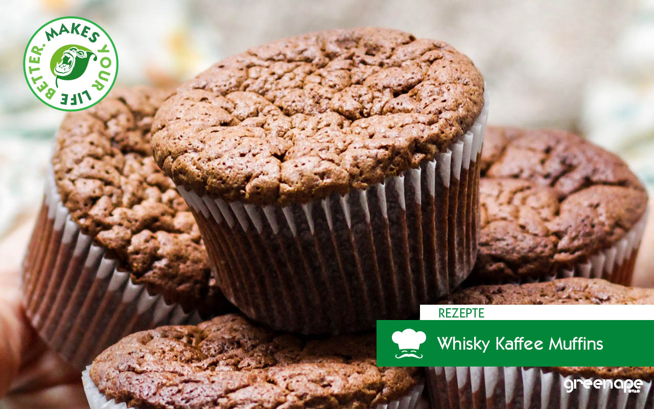Whisky Kaffee Muffins Greenape 1st Single Malt Whisky Coffee backen herbst Makes Your Life Better