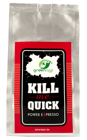 GreenApe KillmeQuick Power Espresso Robusta Kaffeebohnen